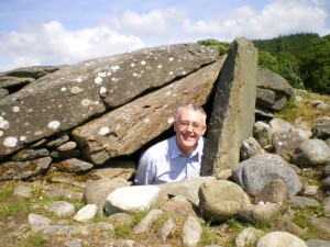 Fellow Jim Mearns at Kilmartin Glen