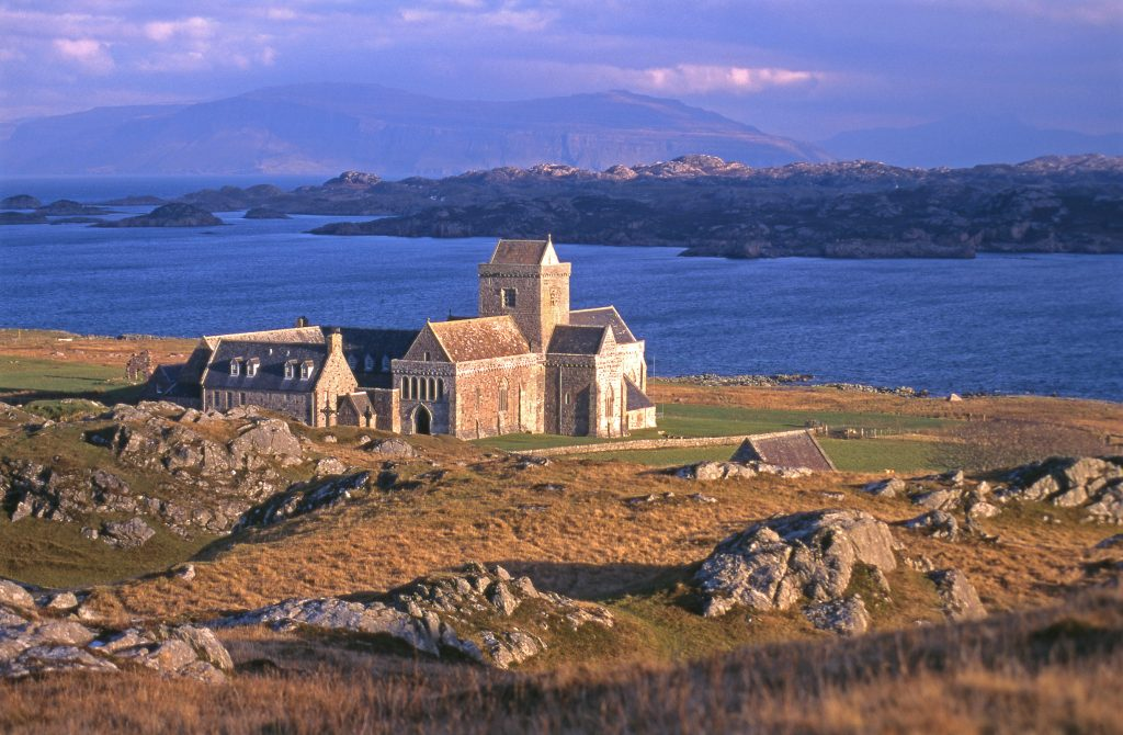 View to Iona Abbey