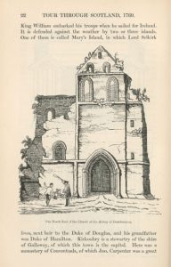 Illustration of Dundrennan Abbey ruins