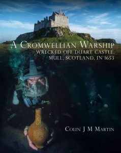 Cover of A Cromwellian Warship, by Colin J M Martin