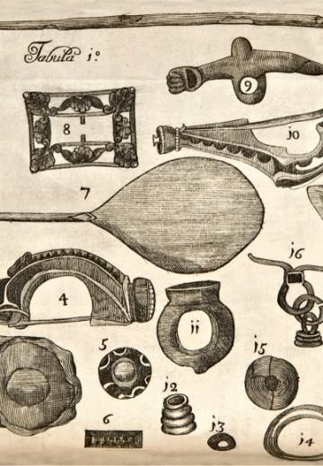 Antonine Wall - Sibbald 1711