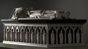 The 3D digital visualisation of Bruce's tomb. © Digital Design Studio