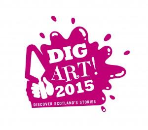 Dig Art! 2015 logo