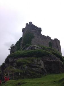 Fieldwork at Castle Tioram