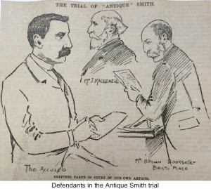 Defendants in the Antique Smith trial1
