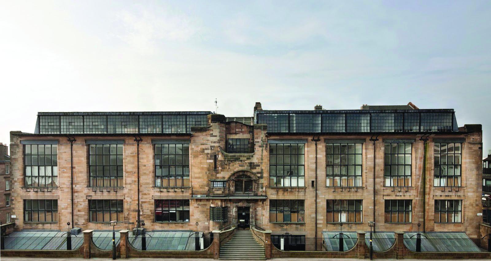 Facade of Glasgow School of Art