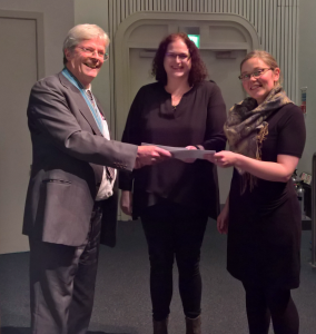 Presentation of the RBK Stevenson Award at the 2016 Anniversary Meeting