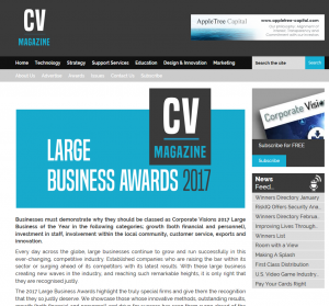 CV Magazine screengrab