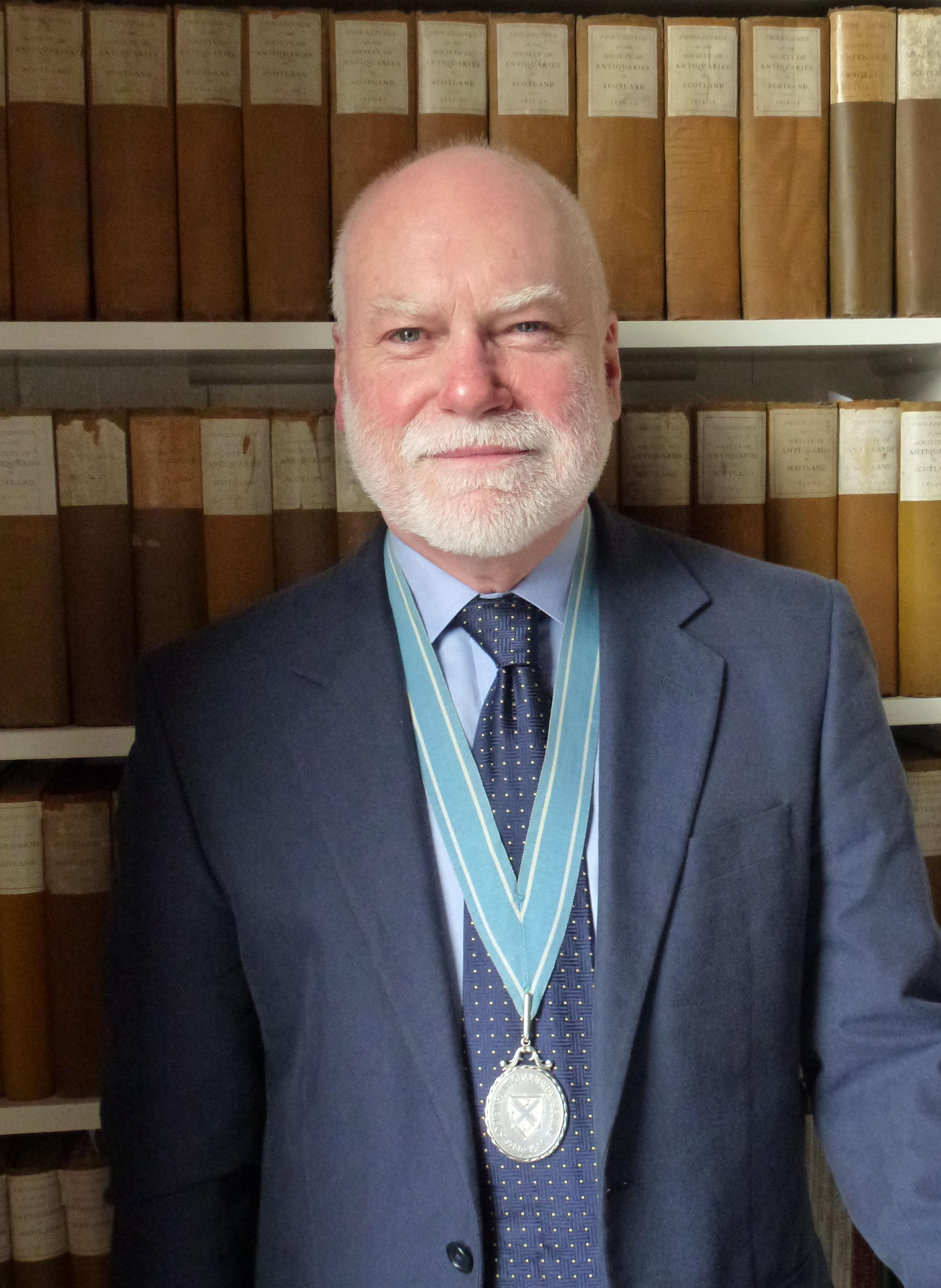 Alan Saville, Past President of the Society