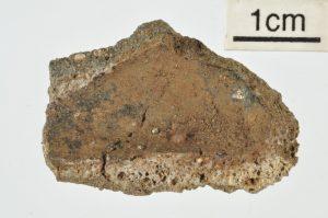 Crucible fragment