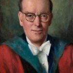 Painting of Gordon Donaldson
