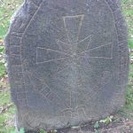 Edinburgh runestone in Princes Street Gardens