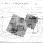 resistivity results on plan of Duntocher