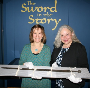 Valentina Bold with the Sword as part of the Sword in the Story exhibition