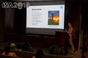 Presentation at conference