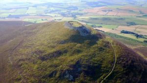 Tap O'Noth (Image Credit: edited and reproduced with permission by James O'Driscoll, University of Aberdeen)