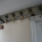 Photo of the attic bells at Manderston, near Duns