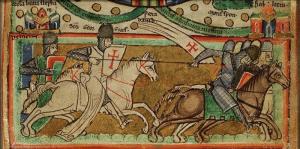 Image from Matthew Paris Manuscript